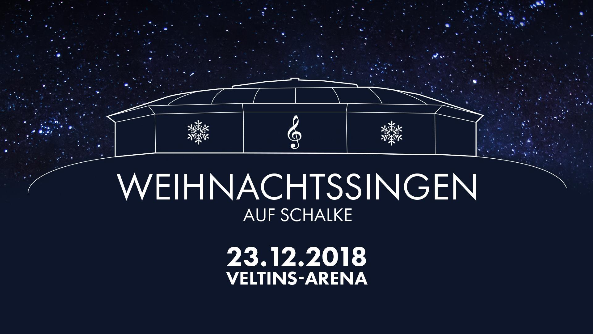 Weihnachtssingen Auf Schalke, 23. Dezember